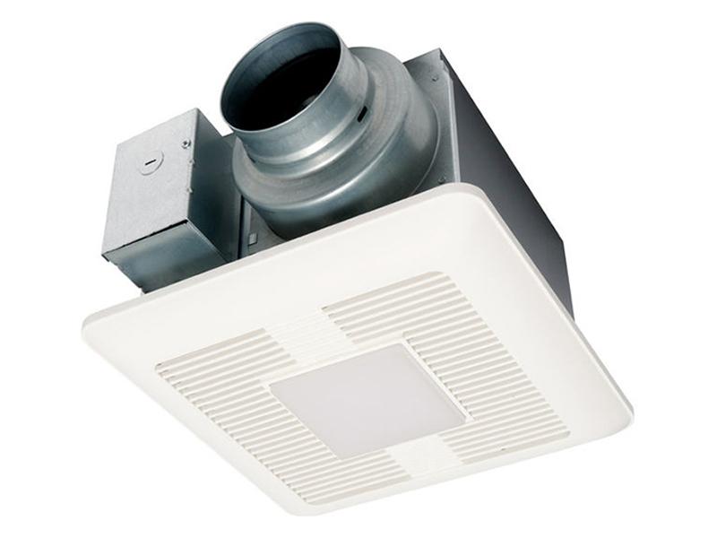 Whisperceiling 174 Dc Ventilation Fan Light 50 80 110 Cfm