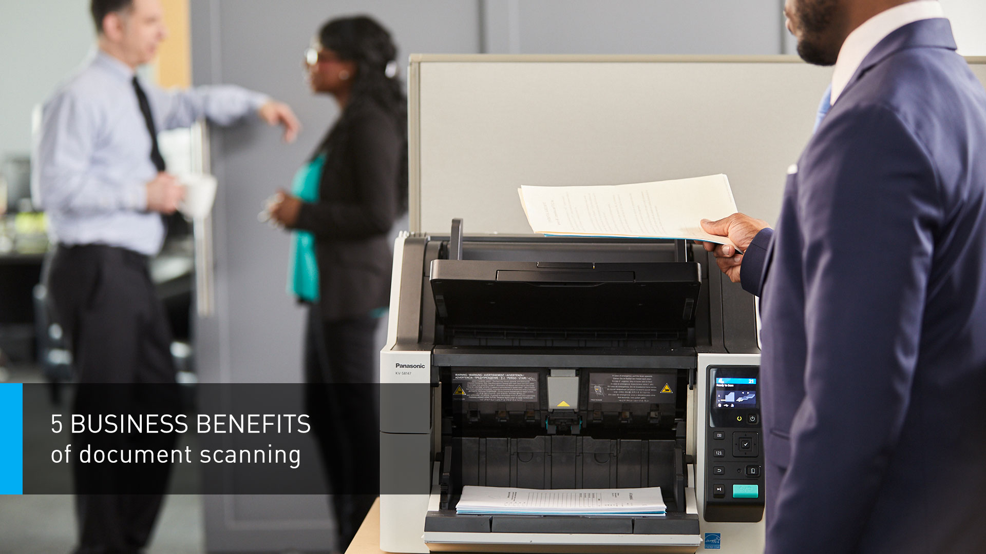 5 Business Benefits of Document Scanning