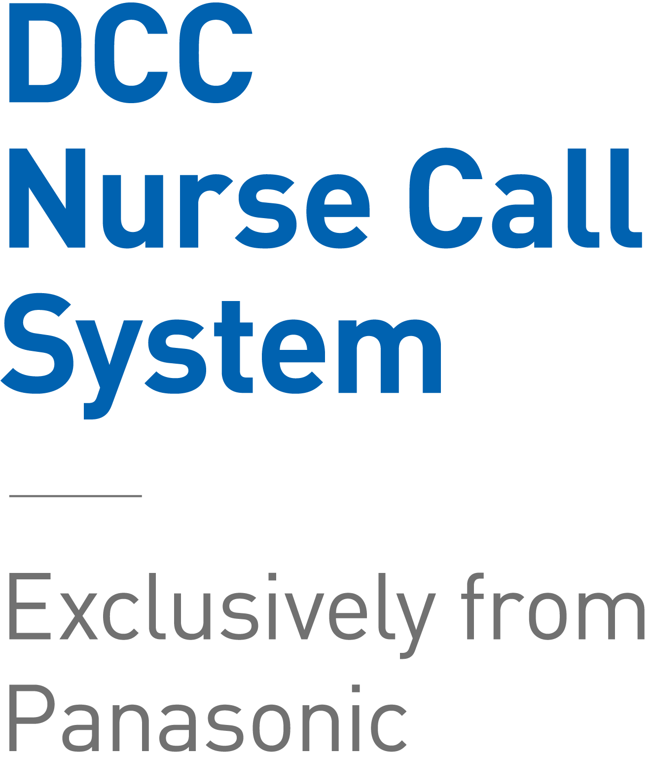 DCC Nurse call system - Exclusively from Panasonic