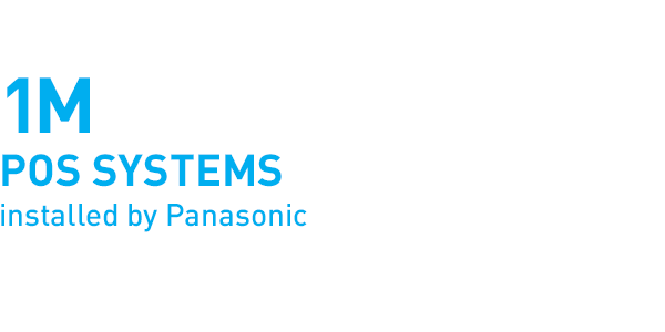 1million POS systems installed by Panasonic