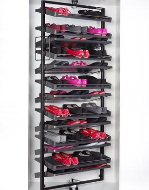 Revolving Shoe System - Rotating Rack