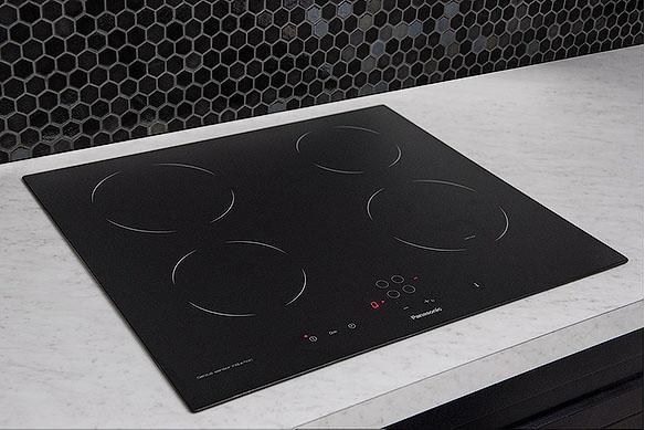 24 Induction Cooktop 4 Burner Zones Built In Sensor Touch Panasonic North America Canada