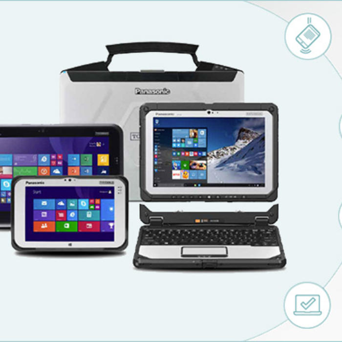 group of toughbooks