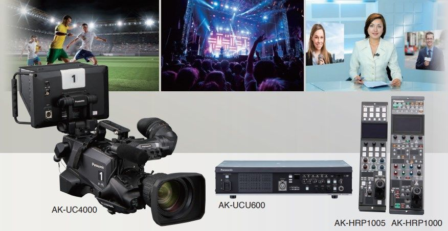 AK-UC4000 Best Live Production Camera System for Sports