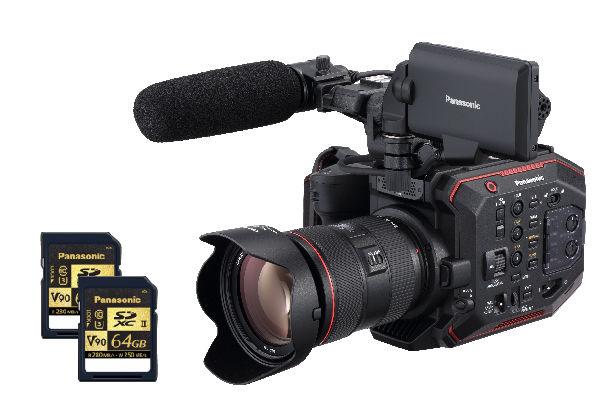 Panasonic au-eva1 SD cards eva1 media free promo rebate v90 sd cards best eva1 cards