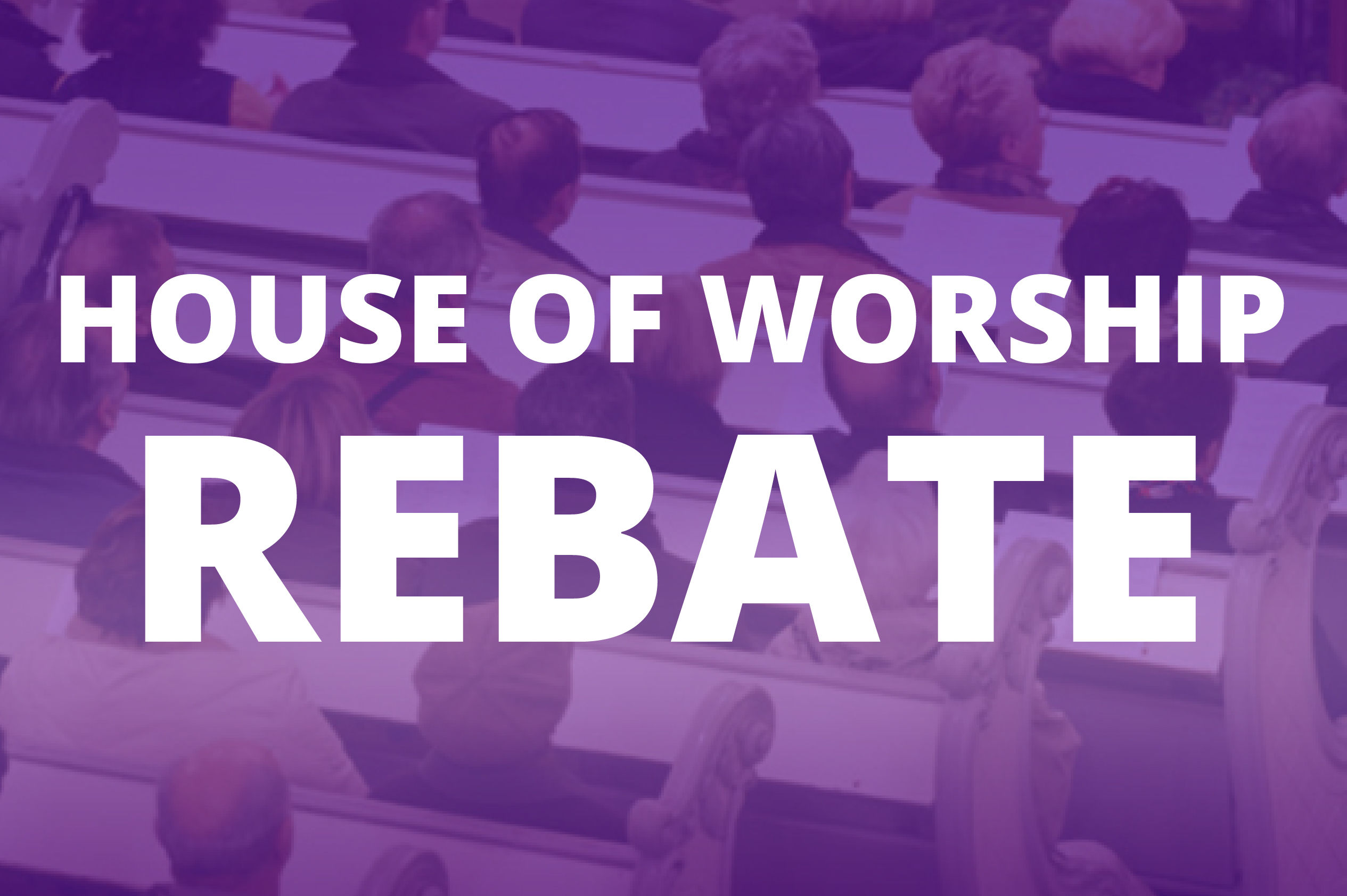 house of worship church live video production promotion rebate
