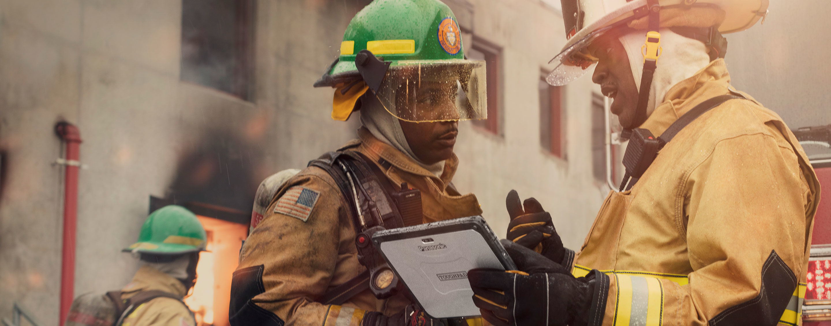 Toughbook for Firefighters