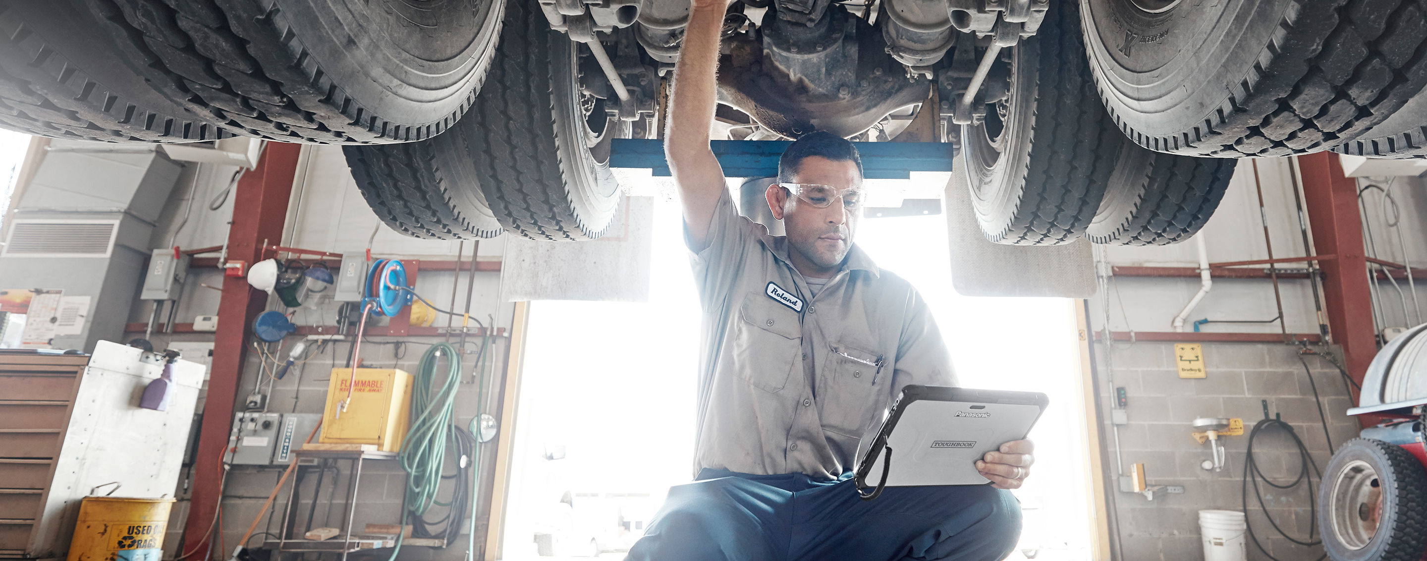 Toughbook for Field Service