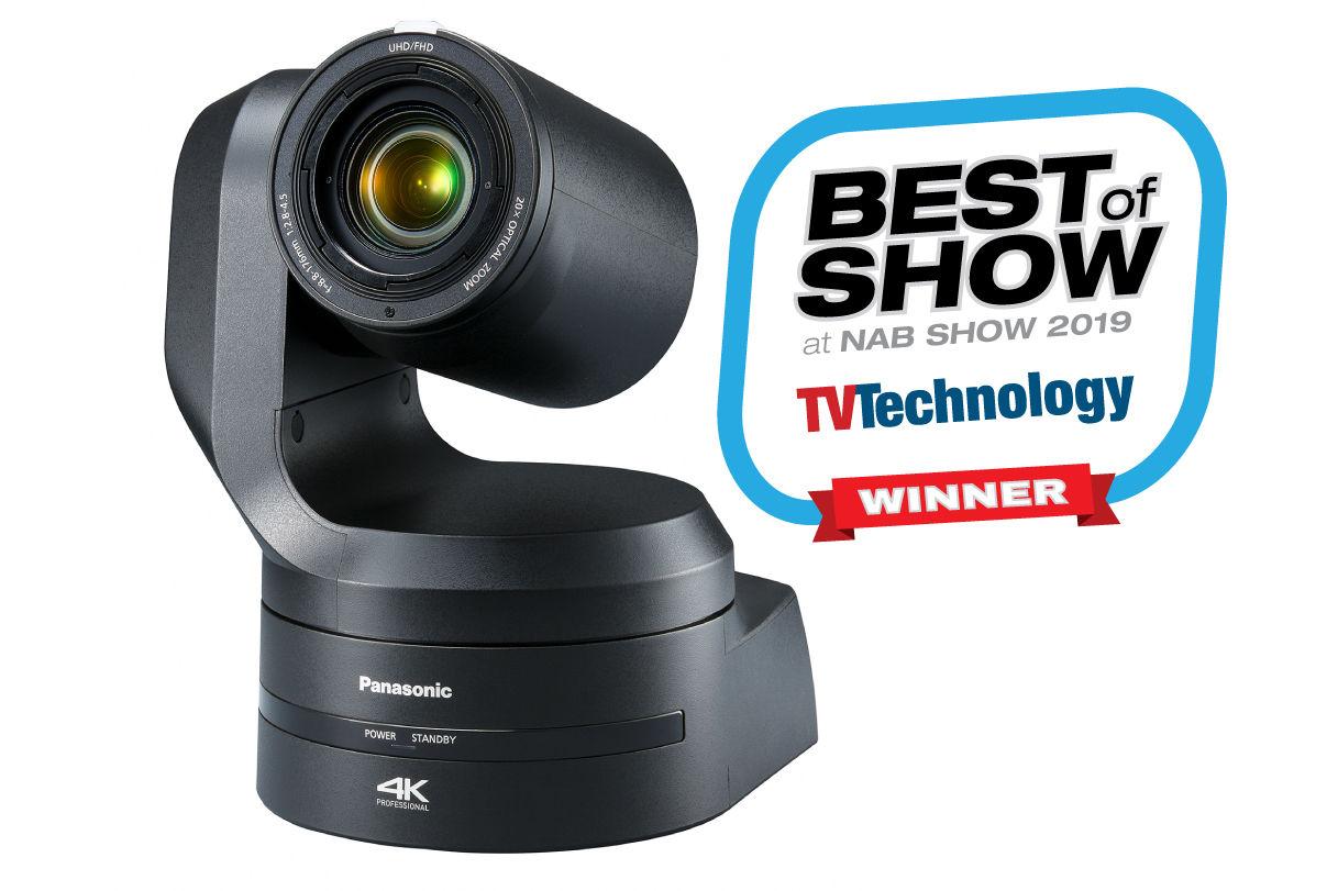 AW-UE150 4K 60p Remote PTZ Video Camera