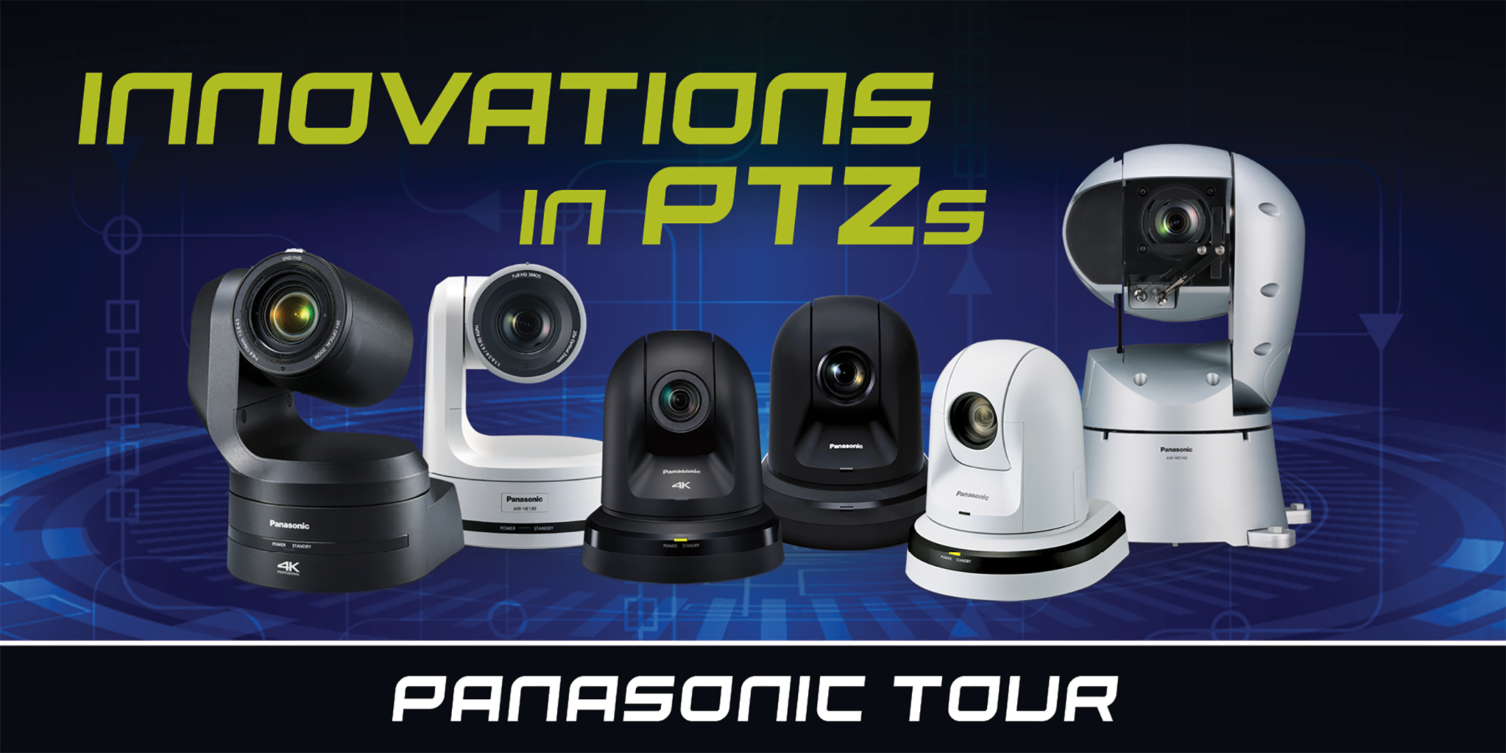 panasonic professional ptz pro ptz remote camera roadshow workshops tour