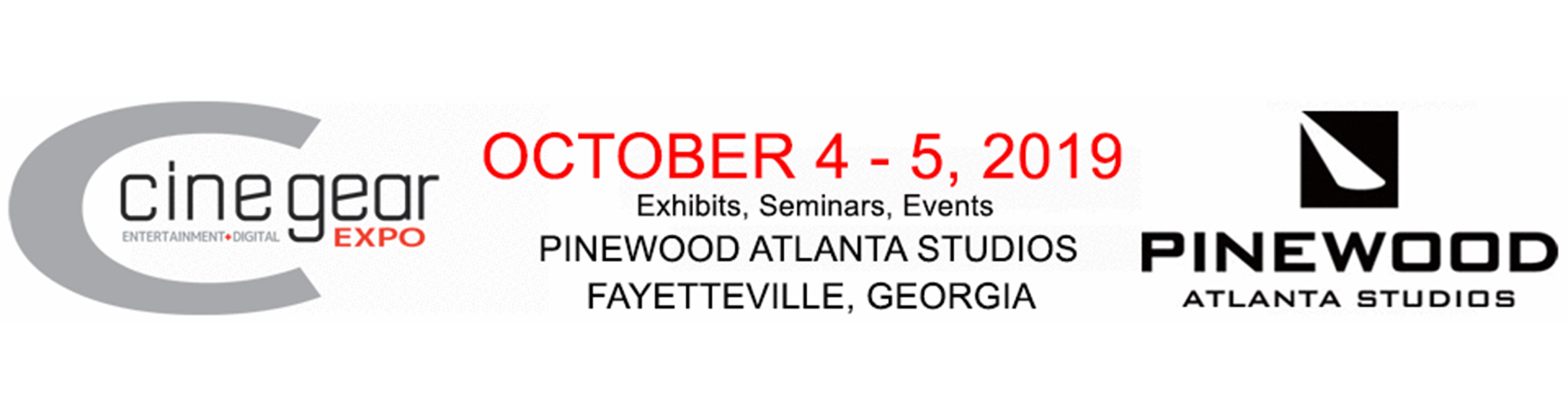 cinegear atlanta cine gear expo show panasonic booth schedule hours location