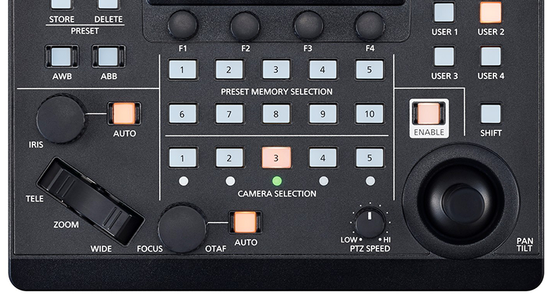 AW-RP60 user assignable buttons presets (2)