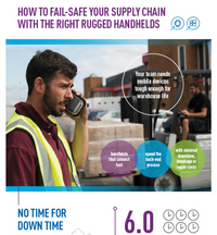 How to Fail-Safe Your Supply Chain with the Right Rugged Handhelds