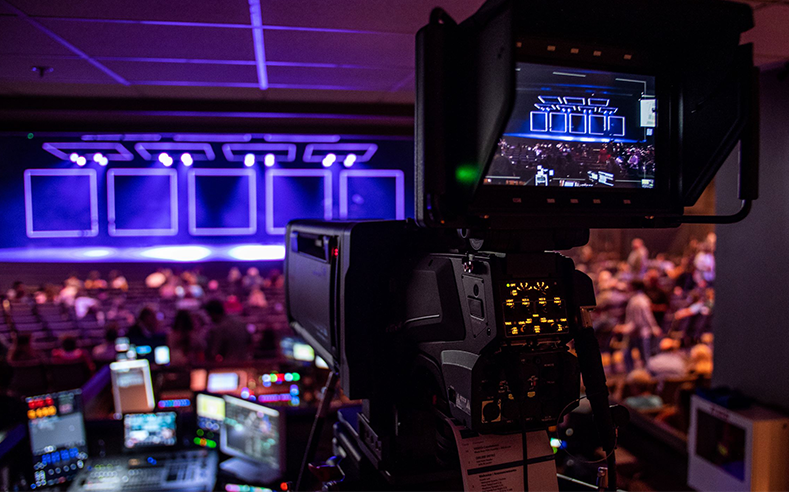 best cameras for large church house of worship cinematic video production