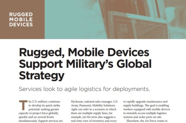 Military Readiness And Rugged Mobile