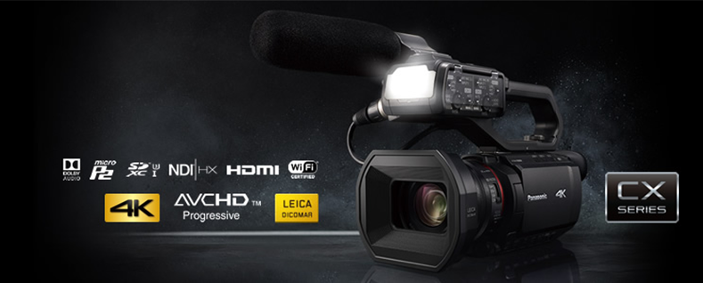 Panasonic 2020 CES new 4K camcorder AG-CX10 with NDI