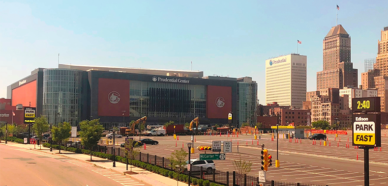 New Jersey Prudential Center - exterior