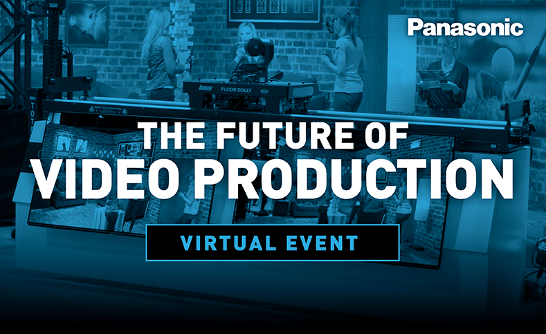 Panasonic - The Future of Video Production Virtual Press Conference - KAIROS - AW-UE100