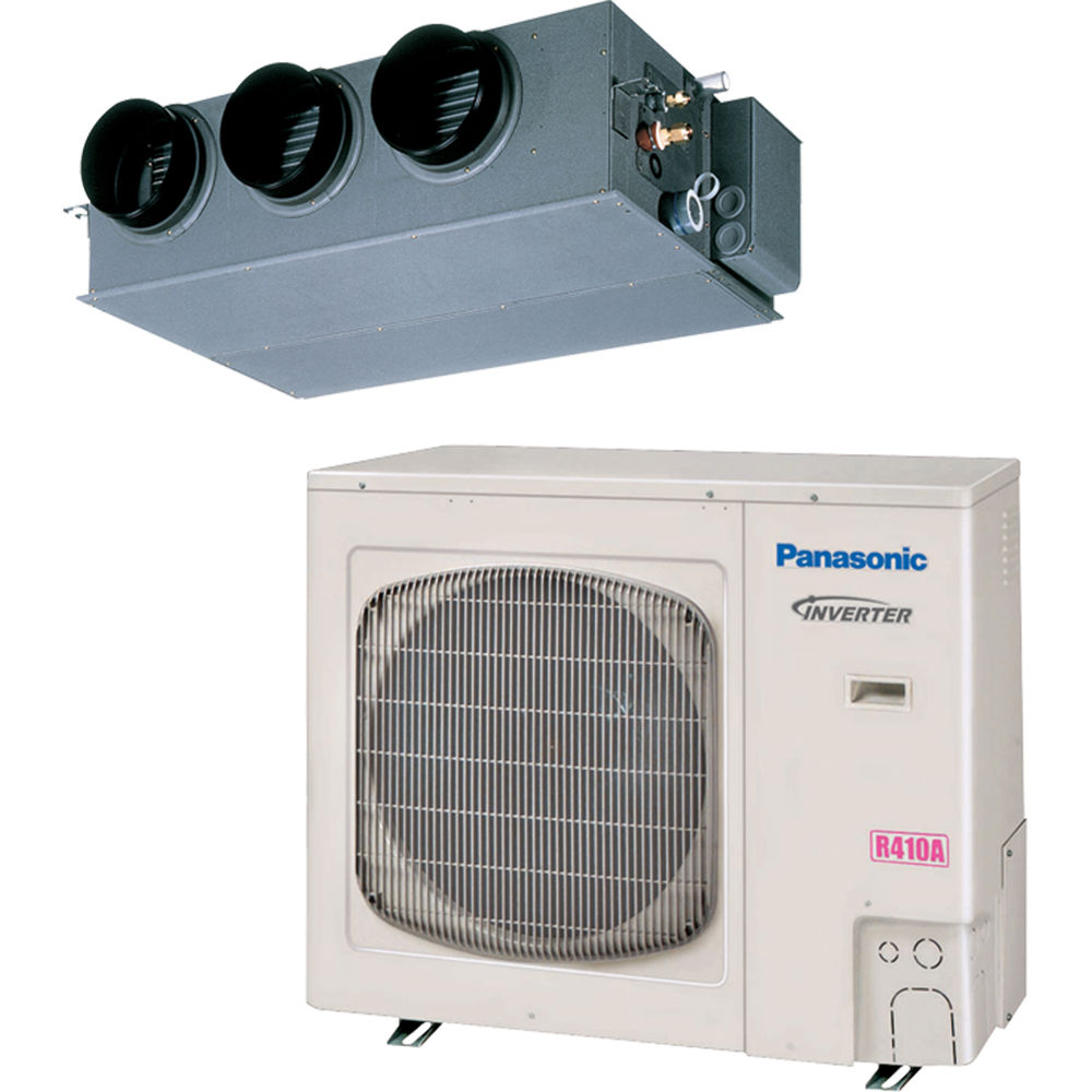 Panasonic Concealed Duct Air Conditioner - Low Ambient