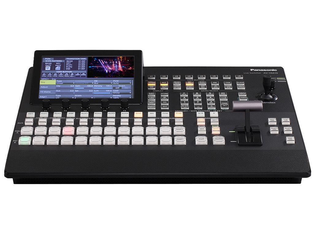 Panasonic AV-HS410 Multi-Format HD Switcher - Professional