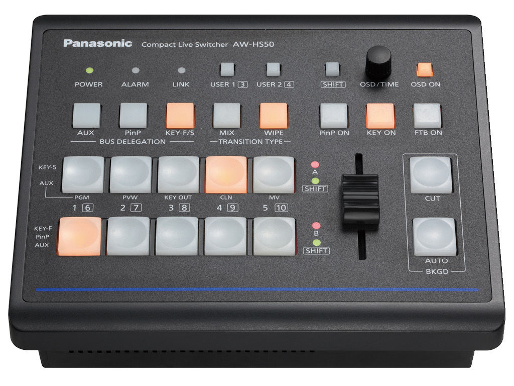 Panasonic AW-HS50N HD Video Switcher - Professional Video