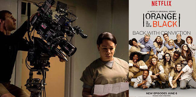 Orange is the New Black shot on Panasonic VariCam