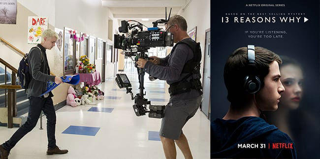 13 Reasons Why shot on Panasonic VariCam