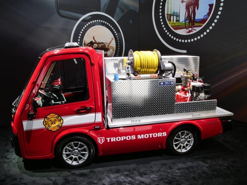 tropos fire vehicle
