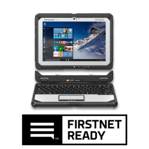 TOUGHBOOK 20 computer with FirstNet Ready logo