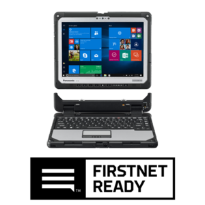 TOUGHBOOK 33 computer with FirstNet Ready logo
