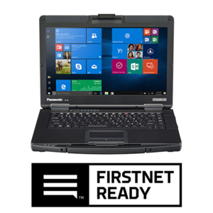 TOUGHBOOK 54 computer with FirstNet Ready logo