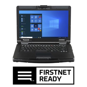 TOUGHBOOK 55 computer with FirstNet Ready logo