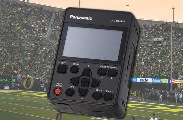 AG-UMR20 AG-UCK20 pole cam POV sports coaching training analysis coach play playback