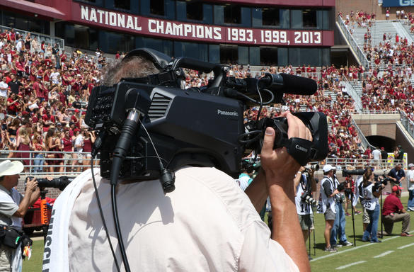 ak-hc5000 stadium live production camera FSU florida state university