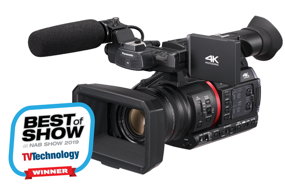 Panasonic AG-CX350 best camera for weddings live streaming production