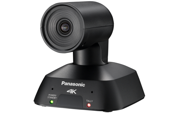 AW-UE4K IP Streaming PTZ Camera USB PoE HDMI Panasonic HE2 Video Conferencing Robocam - side black K