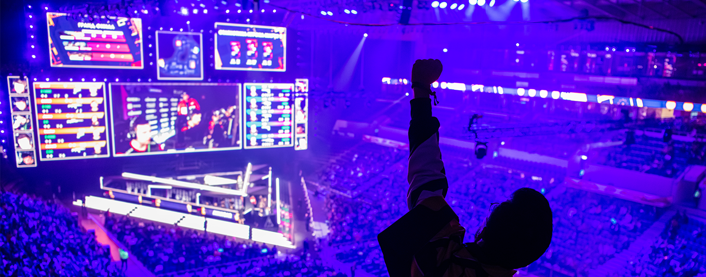 Panasonic Esports Video Production Cameras Switchers Projectors and IMAG solutions for arenas and esports venues