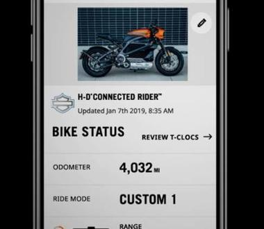 H-D Connected Rider