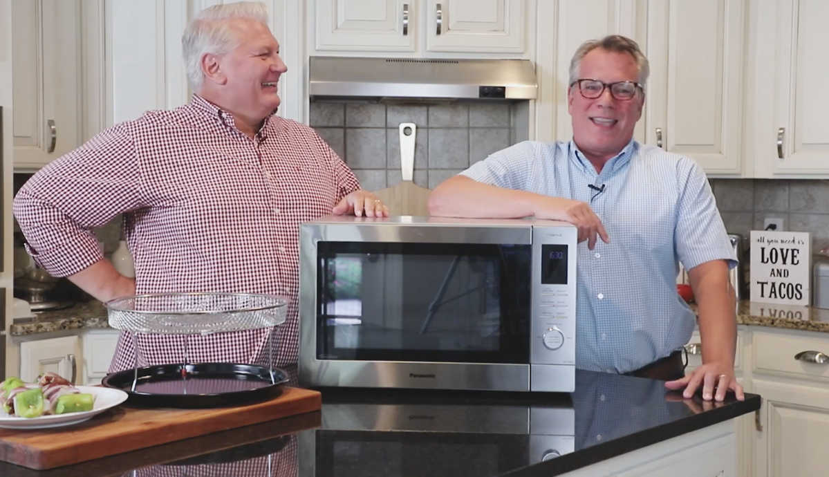 Panasonic Home Chef 4 in 1 Multi-Oven Microwave | How to Feed a Loon