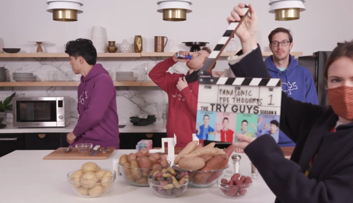 Craving more Try Guys? Watch the outtakes!