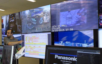 Panasonic Network Operations Center - Times Square NYC