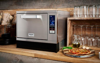 Panasonic High Speed Oven in Bistro Setting