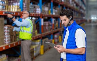 Rugged Tablet Warehouse Voice Picking Technology