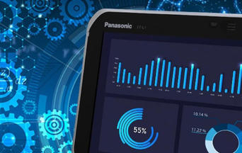 Smart Suite preview on Panasonic TOUGHBOOK L1 tablet