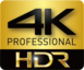 4k Professional HDR (Gold)