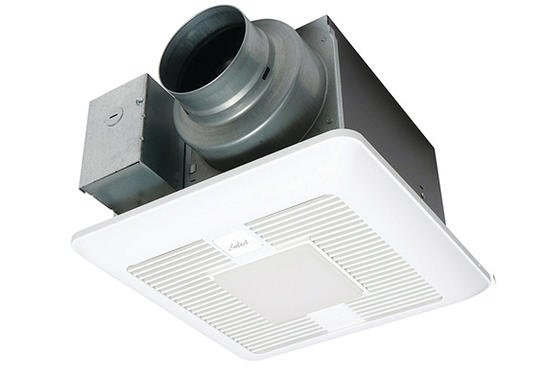 Ventilation Fans, Panasonic Bathroom Exhaust Fans With Light And Heater