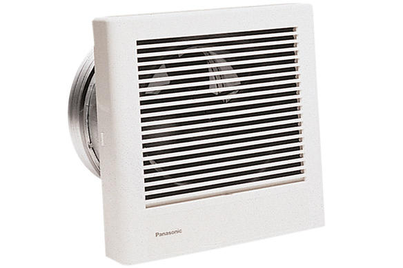 Panasonic Ventilation Whisperwall Through The Wall