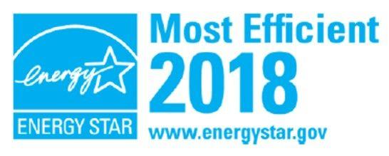 EStar 2018 Most Efficient
