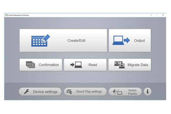 panasonic-content-management-software-for-digital-signage-with-projectors-and-professional-displays
