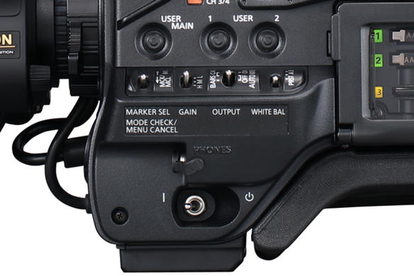 AJ-PX5100 Connected Cam ConnectedCam HDR RTMP ENG Streaming Reliable Camera Power Rocker Switch Comfortable Shoulder Pad